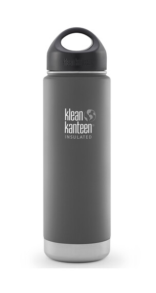 Klean Kanteen Wide Insulated Trinkflasche mit Edelstahl Loop Cap 592ml granite peak matt
